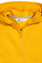 Hooded jacket - Dark yellow - Kids | H&M CN 3