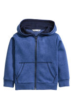 Hooded jacket - Blue marl - Kids | H&M CN 2