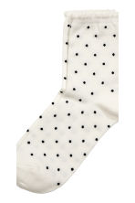 7-pack socks - Black/Spotted - Kids | H&M CN 3