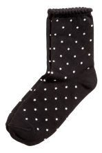 7-pack socks - Black/Spotted - Kids | H&M CN 2