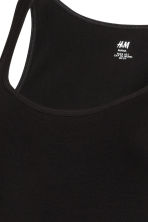MAMA Jersey top - Black - Ladies | H&M CN 2