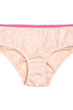 7-pack briefs - Powder pink/Butterfly - Kids | H&M CN 4