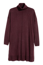 H&M+ Tunica in maglia fine - Bordeaux mélange -  | H&M IT 2