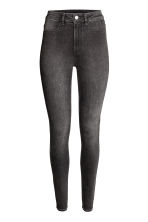 Super Skinny High Jeans - Black washed out - Ladies | H&M CN 2