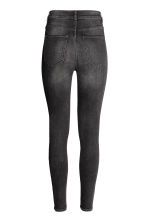Super Skinny High Jeans - Black washed out - Ladies | H&M 4