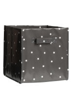 Storage box - Dark grey/Stars - Home All | H&M GB 2