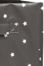 Storage box - Dark grey/Stars - Home All | H&M GB 3