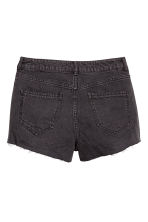 Denim shorts High waist - Black -  | H&M GB 3