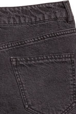 Denim shorts High waist - Black -  | H&M GB 4
