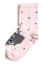 3-pack socks - Grey/Cat - Kids | H&M CN 3