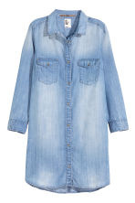 Long shirt - Denim blue - Ladies | H&M 2