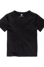 2-pack T-shirts - Black - Kids | H&M CN 4