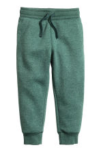 Sweatpants - Dark green marl - Kids | H&M CN 2
