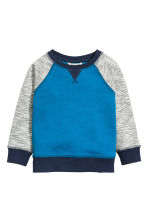 Sweatshirt - Cornflower blue - Kids | H&M CN 2