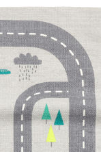 Cotton rug with print motif - Light grey/Car track - Home All | H&M CA 3