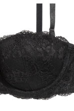 Lace balconette bra - Black - Ladies | H&M 5