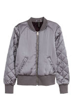 Bomber jacket - Grey - Ladies | H&M GB 2