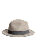 Wool hat - Grey - Men | H&M CN 1