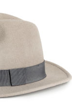 Wool hat - Grey - Men | H&M CN 2
