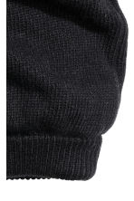 Knitted hat/tube scarf - Black - Men | H&M CN 2