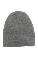 Knitted hat - Grey marl - Men | H&M CN 1