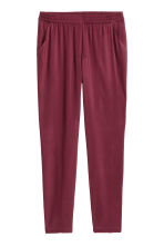 Pull-on trousers - Burgundy - Ladies | H&M CN 2