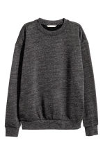 Sweatshirt - Dark grey marl - Ladies | H&M 2