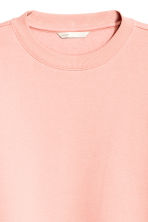 Sweatshirt - Powder pink - Ladies | H&M GB 3