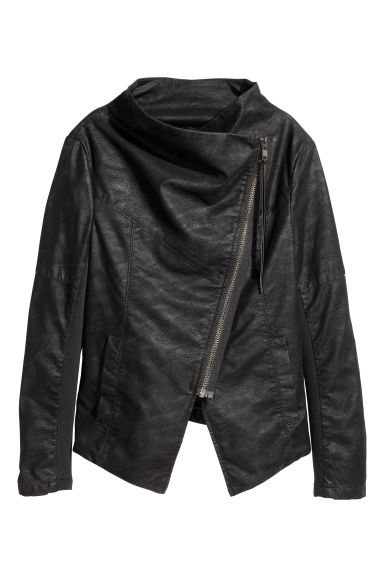 Biker jacket - Black - Ladies | H&M IE