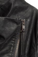 Biker jacket - Black - Ladies | H&M 5