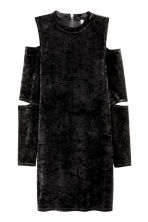 Long-sleeved dress - Black - Ladies | H&M CN 2