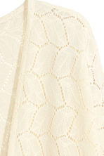 Lace cardigan - Natural white - Ladies | H&M 5