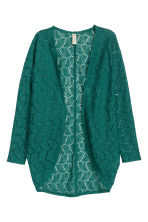 Lace cardigan - Green - Ladies | H&M CN 2