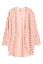 Lace cardigan - Old rose - Ladies | H&M CN 2