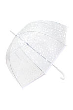 Umbrella - White/Spotted - Ladies | H&M IE 1