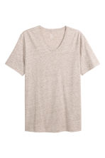 T-shirt - Beige marl - Men | H&M CN 2