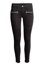 Biker trousers - Black - Ladies | H&M CN 2