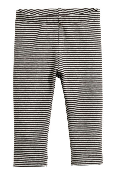 Sweatshirt leggings - Grey/Striped - Kids | H&M CN 1