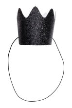 10-pack crowns - Black/Glitter - Home All | H&M CN 1