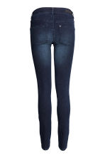 MAMA Super Skinny Low Jeans - 牛仔蓝黑 - Ladies | H&M CN 3