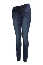 MAMA Super Skinny Low Jeans - 牛仔蓝黑 - 女士 | H&M CN 2