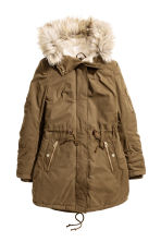Padded parka - Olive - Ladies | H&M CN 2