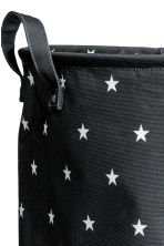 Large storage basket - Anthracite grey/Stars - Home All | H&M CN 2