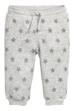 Patterned sweatpants - Grey/Stars -  | H&M CN 1