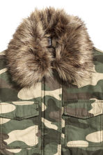 Parka - Khaki green/Patterned -  | H&M CN 2