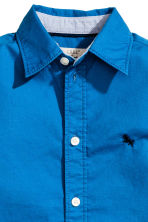 Cotton shirt - Cornflower blue - Kids | H&M CN 3