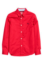 Cotton shirt - Red - Kids | H&M CN 2