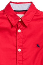 Cotton shirt - Red - Kids | H&M CN 4