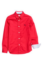 Cotton shirt - Red - Kids | H&M CN 3