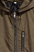 Long bomber jacket - Khaki green -  | H&M CN 3